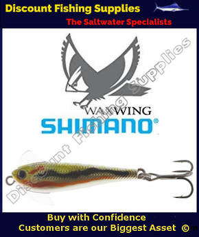 Shimano Waxwing Freshwater Trout Lure 48mm - Bleeding Smelt