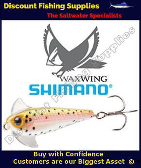 Shimano Waxwing Freshwater Trout Lure 48mm - Rainbow Trout