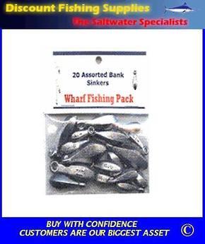 Wharf Pack Sinkers