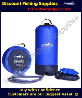SOUTHERN ALPS COMPACT PRESSURISED CAMP SHOWER