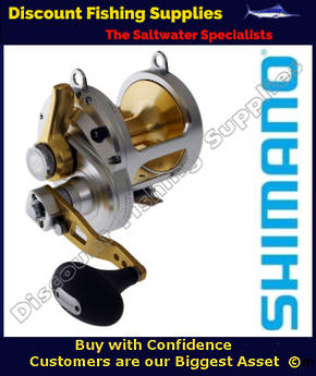 Shimano Talica 25II 2 speed Reel with MonoCam