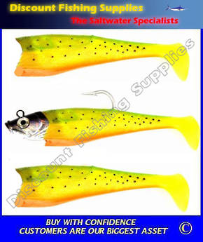Storm Wildeye GIANT Jigging Shad - Fire Minnow 23cm
