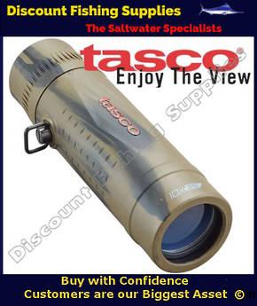 Tasco 10x25 Essentials Monocular Camo Colour
