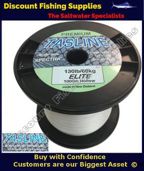 Tasline Elite Hollow Braid 130lb X 1000m