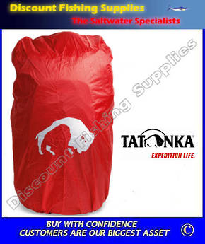 Tatonka Pack Rain Cover XXL Red
