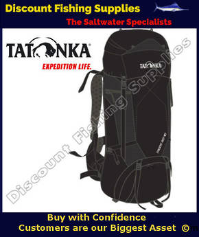 Tatonka Tagos 60+10 Pack - Black