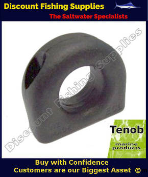 Tenob 19mm Black Deadeye - Fairlead