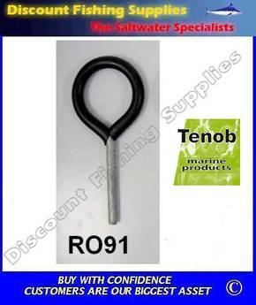 Tenob Galvanised Steel Rowlock (Pair)