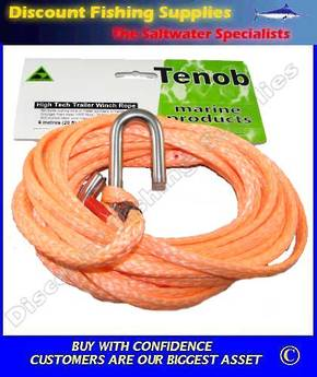 Winch Rope, High Tech 8m