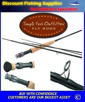 TFO Ticr Series Fly Rod - 4pc 9' 6Wt