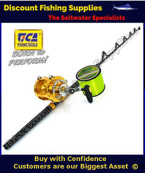 TiCA TEAM GOLD 80WTS 2speed Game Combo - Fully Rollered