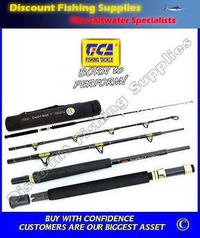 Tica Expert 4pc 24kg Boat Travel Rod (OR LBG ROD)