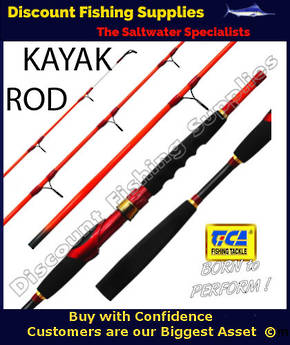 Tica Kayak 562 15-30lb Spin Rod 2pc 5'6""