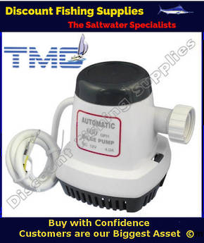 Bilge Pump - TMC - 600GPH - AUTOMATIC