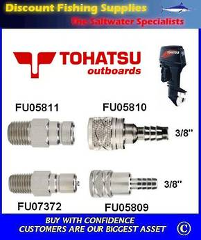 "Tohatsu Tank Outlet Male, 1/4"" NPT Thread (FU05811)"