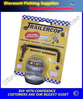 Trailercop 50mm Trailer Coupling Lock