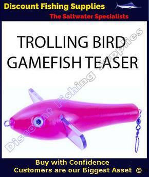 Trolling Teaser Bird - Pink 18cm