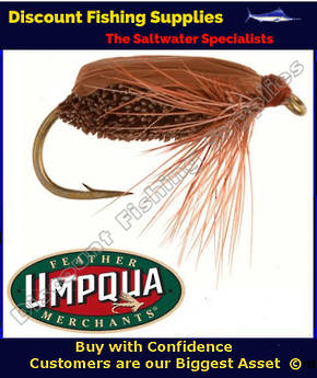 Umpqua Brown Beetle #14 Fly