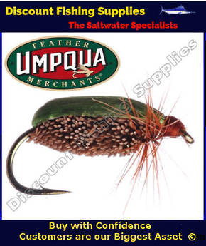 Umpqua Green Beetle #14 Fly