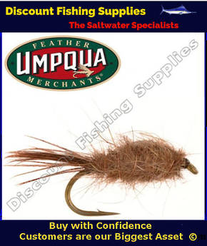 Umpqua Hare and Copper Weighted #12 Fly