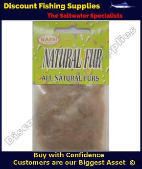 Wapsi Natural Fur Dubbing - Beaver