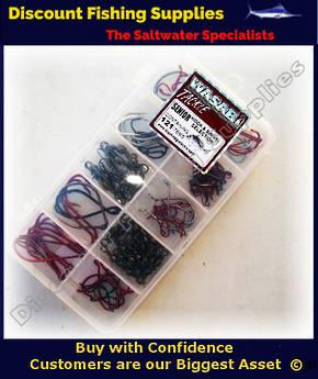 Wasabi Senior Hook and Swivel Selection