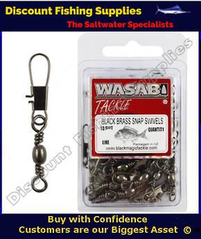 Wasabi Swivel Snaps - Economy Pack