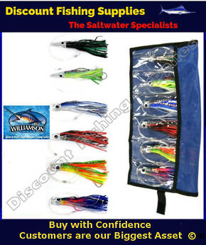 Williamson Game Fish Lure Kit - 6 Lures