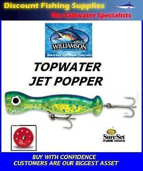 """Williamson Jet Popper - 7"""" Dorado"""