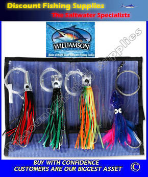 Williamson Master Lure Kit MK4 - 4 Lures