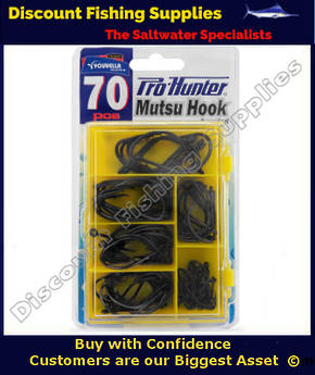 Youvella Mutsu Hook Pack (70 assorted pieces)
