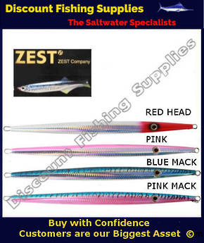 Zest Deep Slim Jig 370gm
