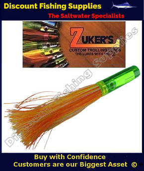 "Zuker 13"" - Grass Skirt Marlin Lure - ZM5.5 ZUKINI"