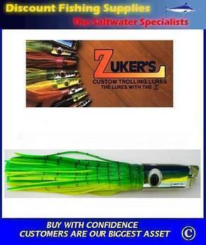 "Zuker 13"" - Vinyl Skirt Marlin Lure - ZM7 Dorado"