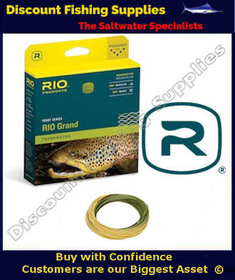Rio GRAND Floating Trout Fly Fishing Line