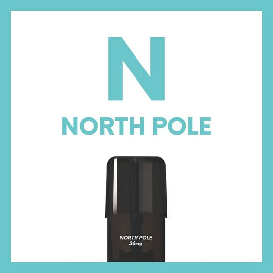 North Pole - AIRSCREAM AirsPops replacement pod 1.6ML 2 pods