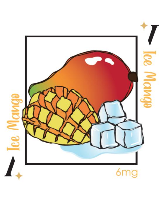 PlusV Ice Mango 10 ML