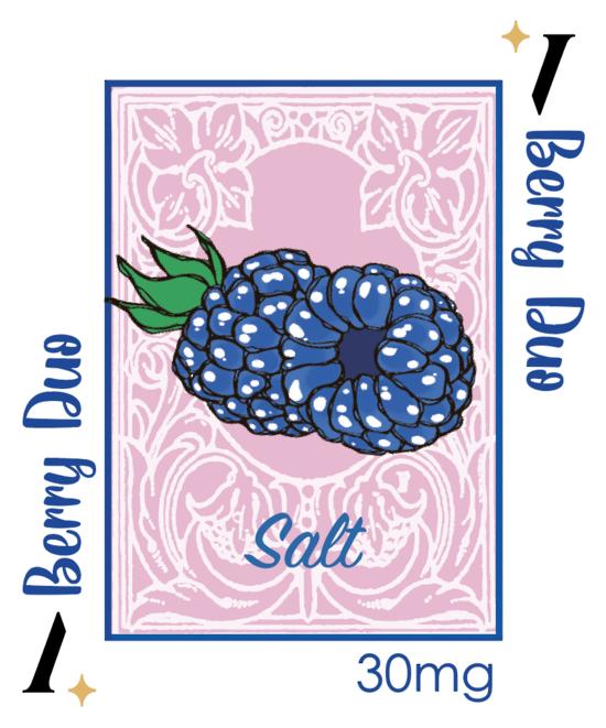PlusV Salt -- Berry Duo 30 ML 30mg/ml