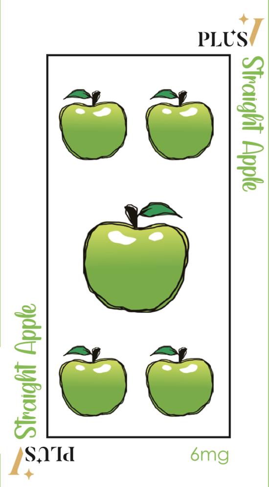 Plus V Straight Apple 60 ML