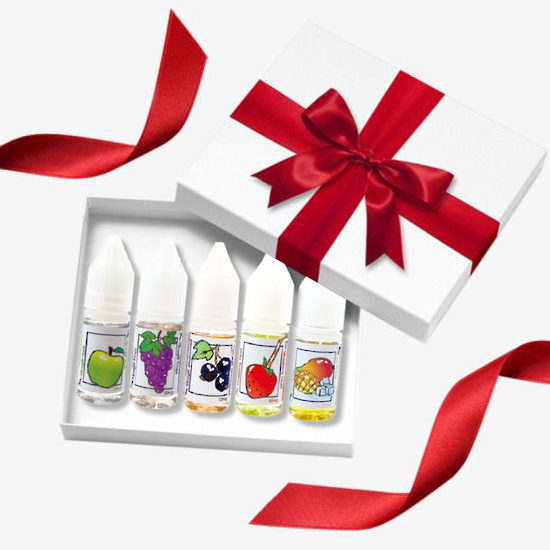PlusV Fruity Gift Pack 5*10ml