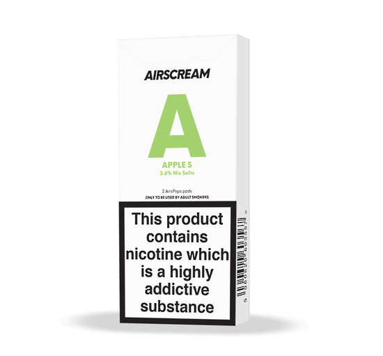 Airscream Cartridge Apple Shisha 1.6ml 2pods pk