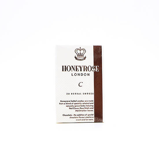 Honeyrose Chocolate Herbal Cigarettes 20s