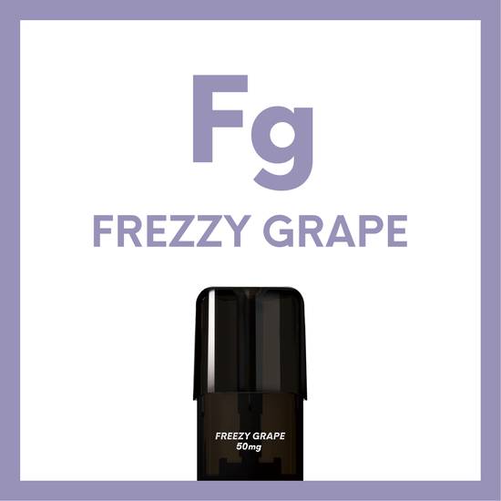 Airscream Cartridge Freezy Grape 1.6ml 2pods pk