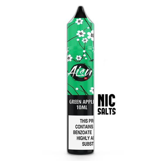 AISU NicSalts Green Apple 10ml