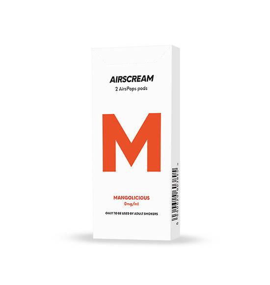 Airscream Cartridge Mangolicious 2pods pk