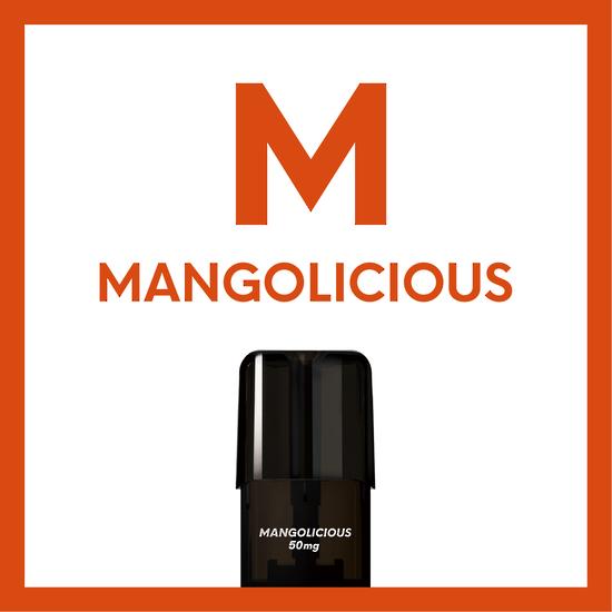 Airscream Cartridge Mangolicious 1.6ml 2pods pk