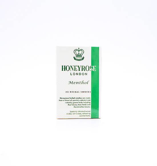 Honeyrose Menthol Herbal Cigarettes 20s