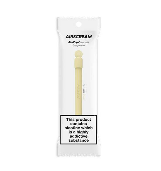 Airscream Lemon One-Use Disposable E-Cigarette