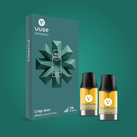 Vuse (Vype) ePod Crisp Mint Cartridges