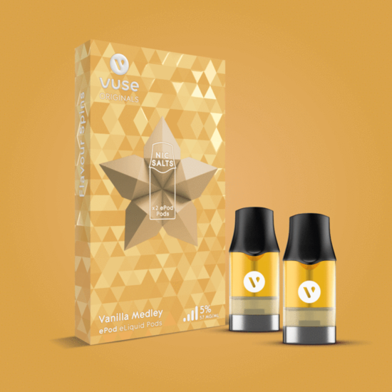 Vuse (Vype) ePod Vanilla Medley Cartridges